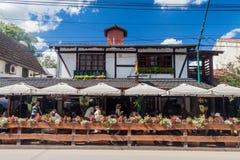 Casa de campo General Belgrano, Argentina imagens de stock