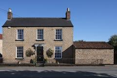 Casa de campo Georgian - Yorkshire - Inglaterra Fotografia de Stock Royalty Free