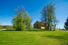 Casa de campo grande. Fotos de Stock Royalty Free
