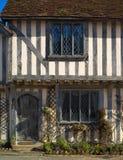 Casa de campo half-timbered antiga Fotografia de Stock