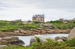 Casa de campo hermosa Imagen de archivo libre de regalías