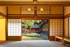 Casa de campo imperial de Tamozawa em Nikko, Japão imagens de stock