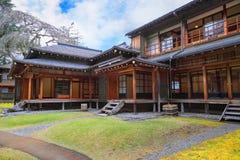 Casa de campo imperial de Tamozawa em Nikko, Japão imagem de stock royalty free