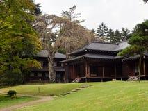 Casa de campo imperial de Tamozawa em Nikko, Japão Fotografia de Stock