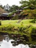 Casa de campo imperial de Tamozawa em Nikko, Japão Imagem de Stock