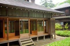 Casa de campo imperial de Tamozawa, Nikko, Japão fotografia de stock