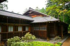 Casa de campo imperial de Tamozawa, Nikko, Japão imagem de stock