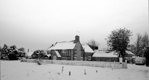 Casa de campo inglesa Imagem de Stock