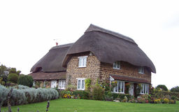 Casa de campo inglesa do lado do país Fotografia de Stock Royalty Free