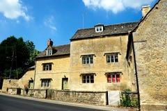 Casa de campo inglesa en Cotswolds, Inglaterra, Reino Unido Fotografía de archivo libre de regalías