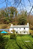 Casa de campo inglesa típica, Cornualha, Reino Unido Imagem de Stock