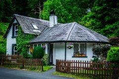 Casa de campo irlandesa Imagens de Stock