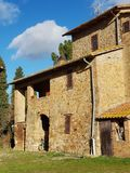 Casa de campo de Italiano imagem de stock royalty free