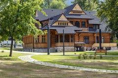 Casa de campo Jutrzenka Foto de Stock