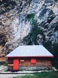 Casa de campo de la montaña Foto de archivo libre de regalías