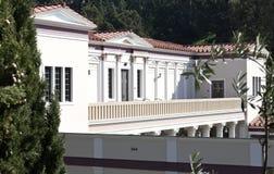 Casa de campo Malibu de Getty Imagens de Stock