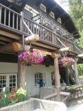 Casa de campo de McDonald del lago Foto de archivo libre de regalías