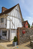 casa de campo medieval Metade-suportada em Lavenham, Suffol Imagens de Stock Royalty Free