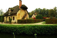 Casa de campo na aldeola da rainha, Versalhes, França Foto de Stock