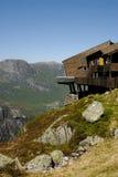 Casa de campo na borda Imagem de Stock Royalty Free