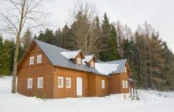 Casa de campo nas montanhas Fotografia de Stock