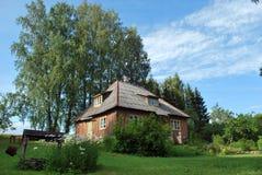 Casa de campo no campo Fotos de Stock