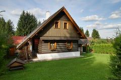 Casa de campo nova Fotografia de Stock Royalty Free