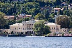 Casa de campo Olmo (lago Como) Fotografia de Stock