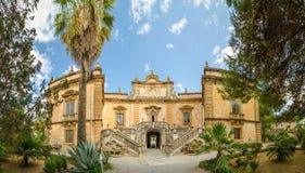 A casa de campo Palagonia é uma casa de campo do patrician em Bagheria, Itália fotografia de stock royalty free