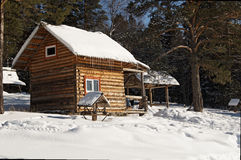 Casa de campo para los turistas Foto de archivo