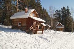 Casa de campo para los turistas Imagen de archivo
