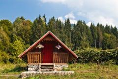 Casa de campo pequena Imagem de Stock Royalty Free