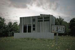 Casa de campo pequena Foto de Stock Royalty Free