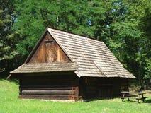 Casa de campo pequena fotografia de stock