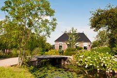 Casa de campo pequena luxuoso Fotografia de Stock