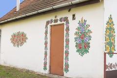 Casa de campo pintada Fotografia de Stock