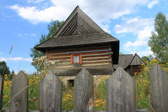 Casa de campo polonesa velha Fotos de Stock