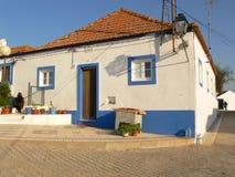 Casa de campo portuguesa fotografia de stock