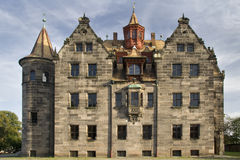 Casa de campo Rudolstadt de Rischtersche Fotos de Stock Royalty Free