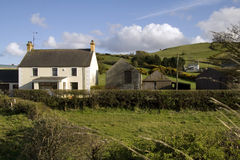 Casa de campo rural Imagens de Stock