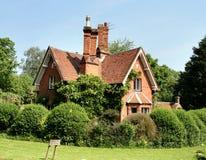 Casa de campo rural inglesa Fotos de archivo libres de regalías