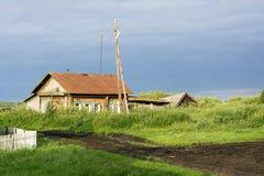 Casa de campo rusa Imagen de archivo libre de regalías