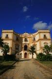 Casa de campo siciliano velha imagem de stock