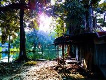Casa de campo silenciosa foto de stock royalty free