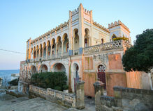 Casa de campo Sticchi em Santa Cesarea Terme, província de Lecce, Apulia, imagens de stock