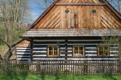 Casa de campo suportada Imagens de Stock