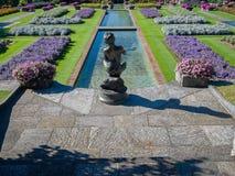 Casa de campo Taranto Itália dos jardins botânicos Foto de Stock