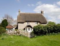 Casa de campo Thatched Foto de Stock