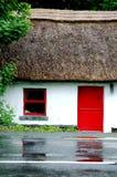 Casa de campo Thatched fotografia de stock royalty free
