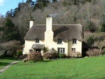 Casa de campo Thatched inglesa fotografia de stock royalty free